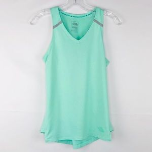 The North Face Tank S Mint Green Running Green